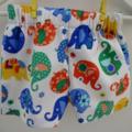"""Size 1 -""""Elephant Romp"""" Shorts"""