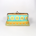 Bliss in yellow large clutch purse