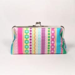 Happy large clutch purse