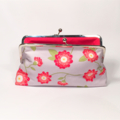 Zinia in red large clutch purse