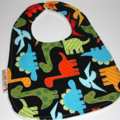"""""""Dinosaurs"""" Cotton Bib Buy 3 bibs get the 4th free and Free Post"""