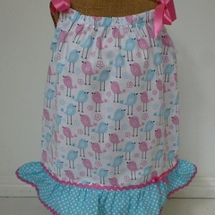 "Size 6 months - ""Tweetie Bird"" Dress and Frilly Pants"