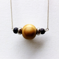 Wooden Ball Necklace