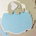 CUSTOM Elephant Candy Jar Labels