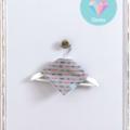 Arrows Baby Dribble Bib - Small