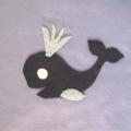 Under The Sea Play Mat, Felt Board Fish Theme Travel Toy