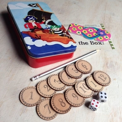Shut The Box - A Counting Dice Game