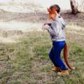 Kangaroo Mask  - Australian Animal - Felt- Book Week - Costume