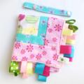 FREE POST * APPLES & BIRDIES Baby   Security Blanket Blankie Taggie Toy