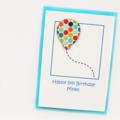 Any Age Personalised Birthday Card, Custom Made Handmade Birthday Card For Kids