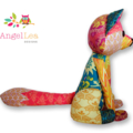 Fox Softie Pattern PDF Sewing Pattern for Stuffed Animal Patchwork Fox Soft Toy