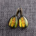 NEW Amazon ~ Smaller Teardrop Lever Back Earrings