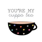 """You're my cuppa tea"" Original Print"