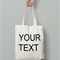 Your Design Here Custom tote / Any text / Any Image/ Wedding Tote / Canvas Tote