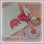 Muslin Baby Wrap Set