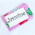 HANG THE ORNAMENTS ~ CANDY ~ with a re-usable matching gift tag