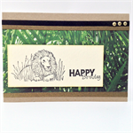 Birthday Card - Lion