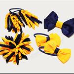 Bella 'School' Bow Pack -  Custom Made in school colors