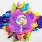 Rainbow Bella 'Candy' Headband (purple band)