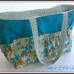 Custom Made - Large Nappy / Baby / Bag - You choose your colours!