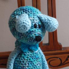 Dani Bear : crochet, safe, OOAK, washable, boy, baby shower, by CuddleCorner