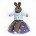 Bronte - Hand Knitted Bunny
