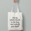 FREE SHIPPING Chocolate calico tote bag canvas market beach bag shopper
