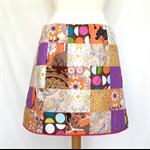 Women's A-Line Patchwork Skirt Size XLarge