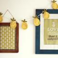 pineapple love   crochet garland   party bunting   nursery room decor