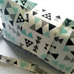 Tribal Theme Nappy Wallet. Gender Neutral Colours