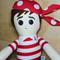 Pirate Boy Cloth Doll