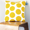 Twig Cushions for the Nest - Yellow Circles