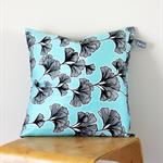 Twig Cushions for the Nest - Aqua Floral