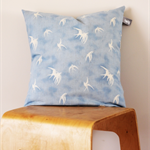 Twig Cushions for the Nest - Blue Birds Linen / Cotton