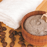 Coffee Mocha exfoliating face scrub