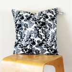 Twig Cushions for the Nest - Monochrome print - ONE OF A KIND
