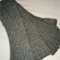 Cashmere Wool Scarf (Charcoal Grey)