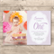 Personalised Girls 1st Birthday Printable Invitation (Digital File)