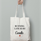 Running Late Is My Cardio - Gym Bag - Canvas Tote Bag - Printed Tote Bag -