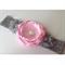 """Pink & Grey Goddess"" Headband"
