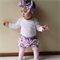 High Wasted Bloomers and Matching Headwrap in Delilah