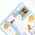 Baby Boy Card - Ten Little Fingers