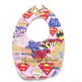 BUY 3 GET 4th FREE Pink Supergirl Hero Bib
