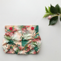 Tropical High Waist Ruched Bloomers