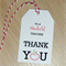 Set of 6 Teacher Thank you gift tags