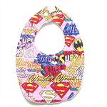 BUY 3 GET 4th FREE Pink Supergirl Hero Bib