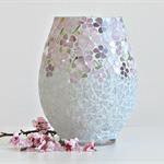 Spring Mosaic Vase