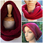 Snood Cowl Scarf Wrap