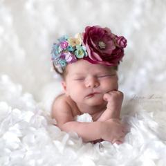 Amelia flower crown By Vintage Fairy