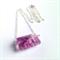 Fluorite Rectangular Necklace